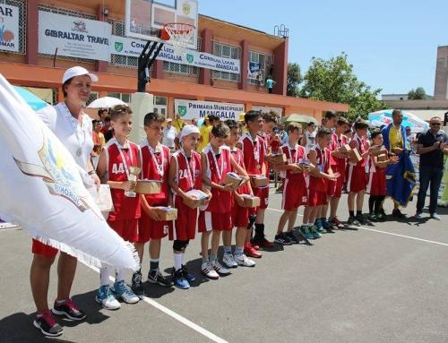 Oradea este din nou medaliată la minibaschet masculin