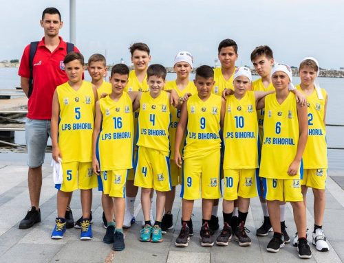 Oradea participă la Liga Națională U12 masculin – ediția 2018