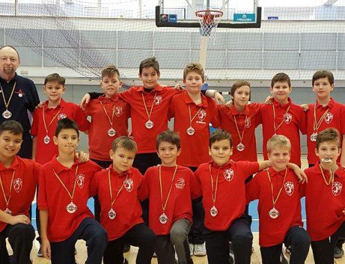Trei victorii pentru echipa U11 la Alpha Basketball Tour Sibiu