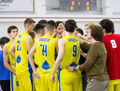 Echipa U18 se deplasează la Focșani