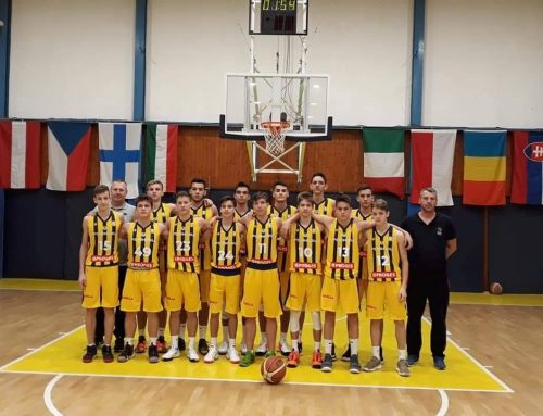 Echipa U16 a obținut o victorie la cel de-al 2-lea turneul EYBL – ediția 2019/20