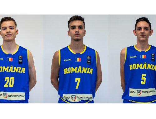 Trei juniori de la CSM LPS Bihorul Oradea se alătură lui U-BT Cluj-Napoca pentru turneul Adidas Next Generation Tournament