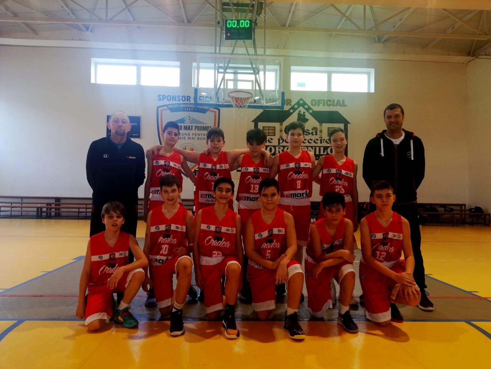 CSM CSU Oradea a participat la primul turneu al Campionatului Național U13 masculin – ediția 2020/21